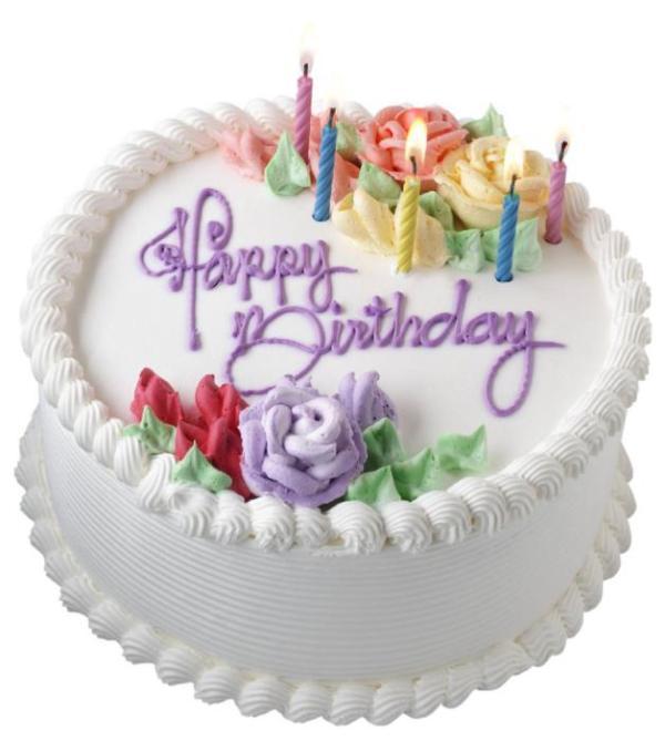 consegna a domicilio torta buon compleanno con panna e candeline online