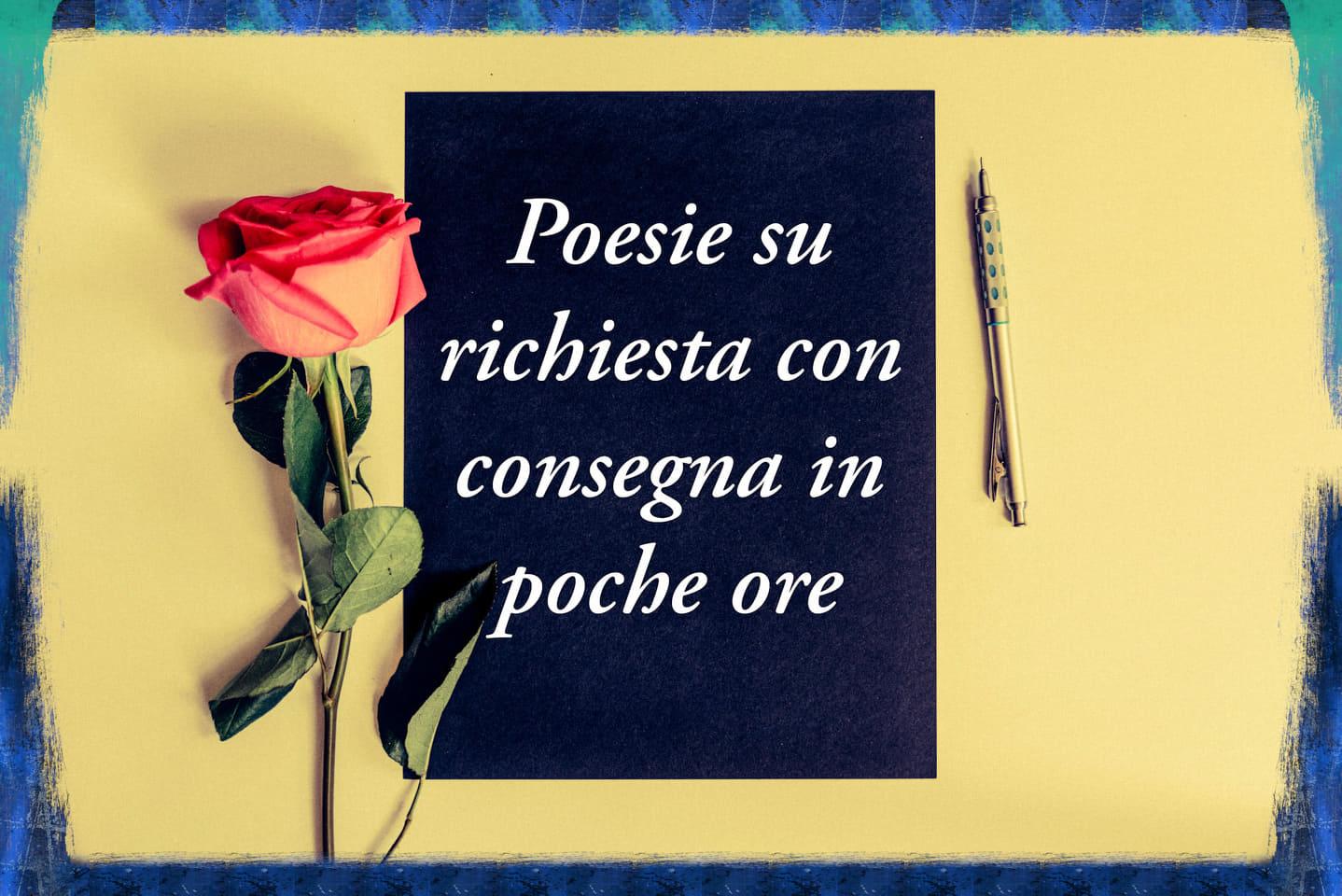 Poesia su richiesta Puntoflora Blog