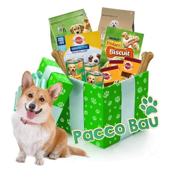 Pacco regalo con prodotti per i nostri cagnolini online