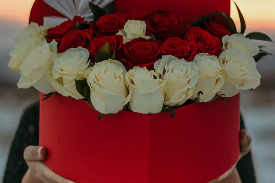 rose rosse per San Valentino