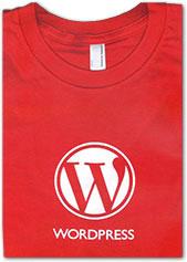 camiseta de wordpress
