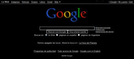 google argentina negro