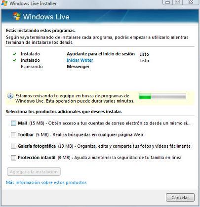 windows live installer