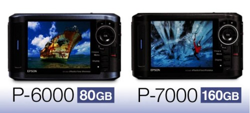 EPSON P-6000 y P-7000