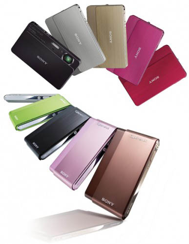 Sony DSC-T700 y DSC-T77