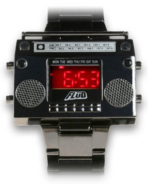 Flüd Boombox Watch
