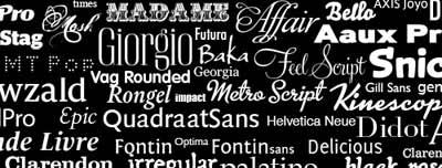 Trabajar con tipografías