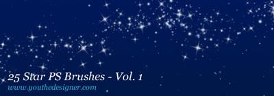 Brushes de estrellas