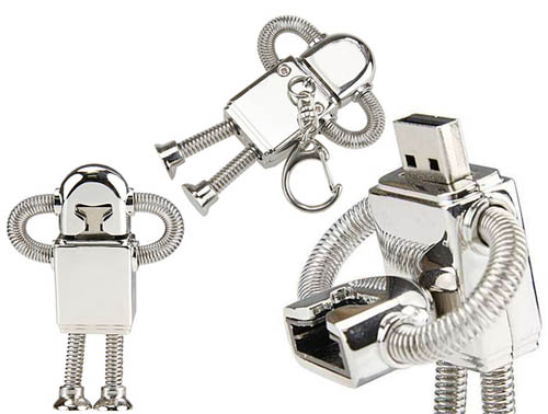 Robot retro USB