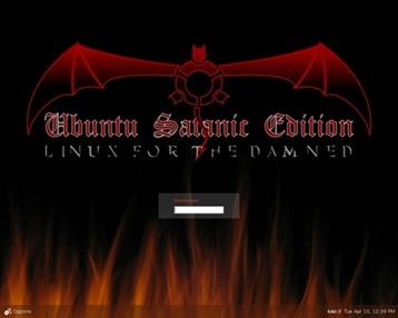Ubuntu Satan