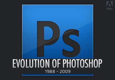 Historia visual de Photoshop