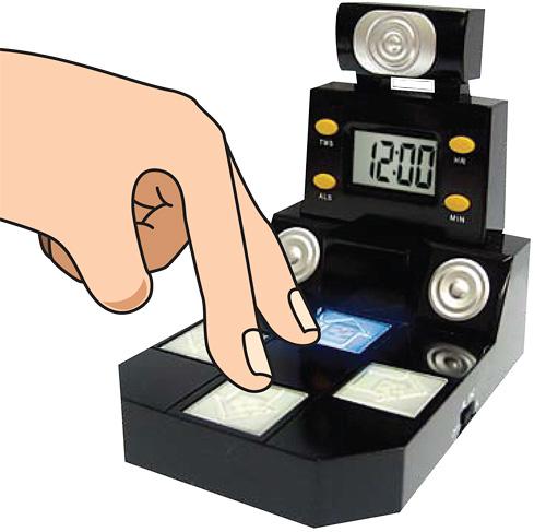 Finger Dance Alarm Clock