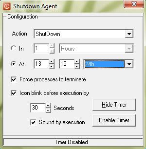 Shutdown Agent
