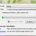 Acelera Firefox con SpeedyFox