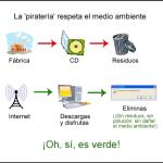Humor: La piratería cuida el medio ambiente