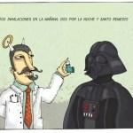 Humor: Dos inhalaciones y santo remedio
