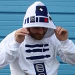 Chaqueta de R2D2 para los amantes de Star Wars