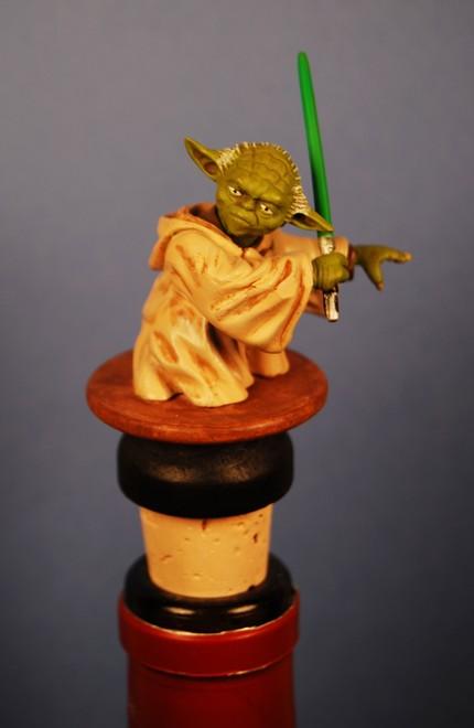 Star Wars Yoda Wine Stopper