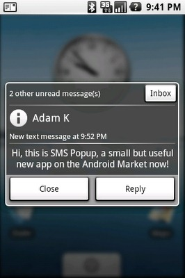 SMS-Popup-Androi