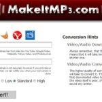 Convertir un video de YouTube a Mp3 con MakeitMp3