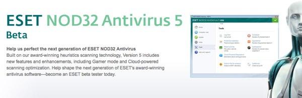ESET NOD32 Antivirus 5 Beta
