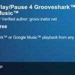 Botón de Play/Pause para Grooveshark en Chrome