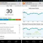 Aplicación oficial de Google Analytics para Android