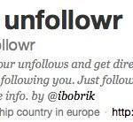 Sigue a @unfollowr para que te avise quién te deja de seguir en Twitter
