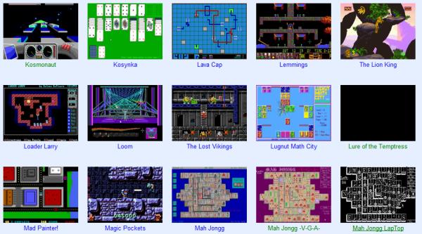 RGB Classic Games