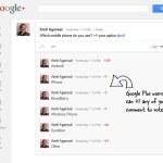 Sencillo truco para crear encuestas en Google+