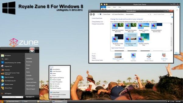 7 Hermosos Temas Para Windows 8