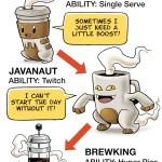 La evolución del adicto al café [Comic]