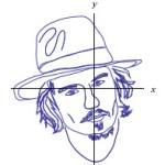 Retratos de famosos con ecuaciones matemáticas en Wolfram Alpha