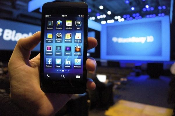 La polémica de la BlackBerry Z10