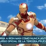 Juego oficial de Iron Man 3 gratis para iPhone y Android