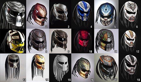 modelos casco depredador 2