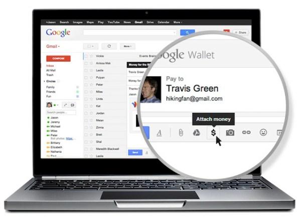 Enviar dinero por Gmail