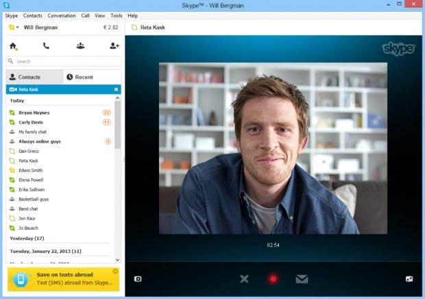 videomensajes skype