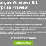 Descargar Windows 8.1 Enterprise Preview GRATIS