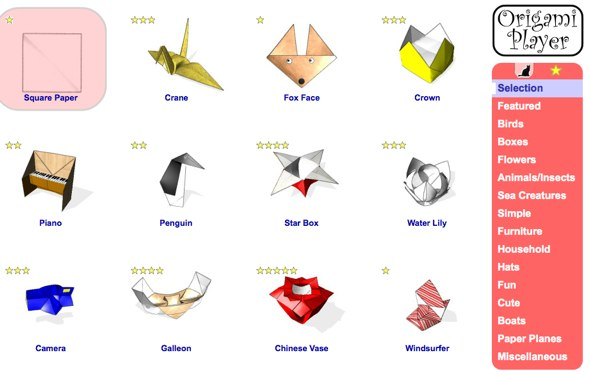 Origami Player