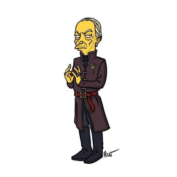 game of thrones simpsons 9