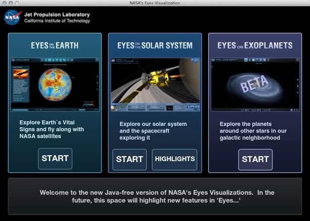 NASA Eyes