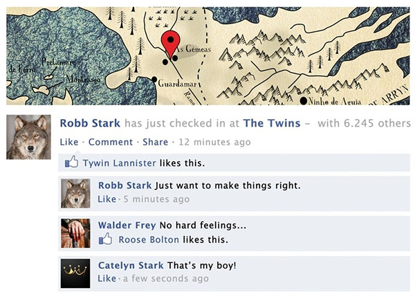 game of thrones facebook