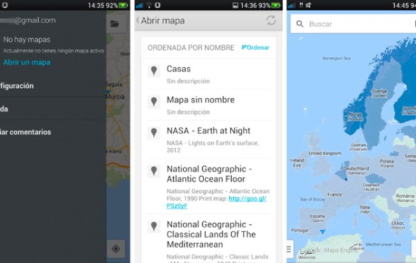 Crear mapas con Google Maps Engine