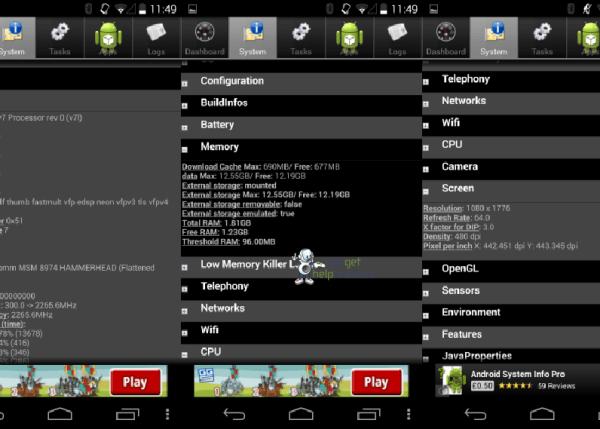 Especificaciones del Nexus 5