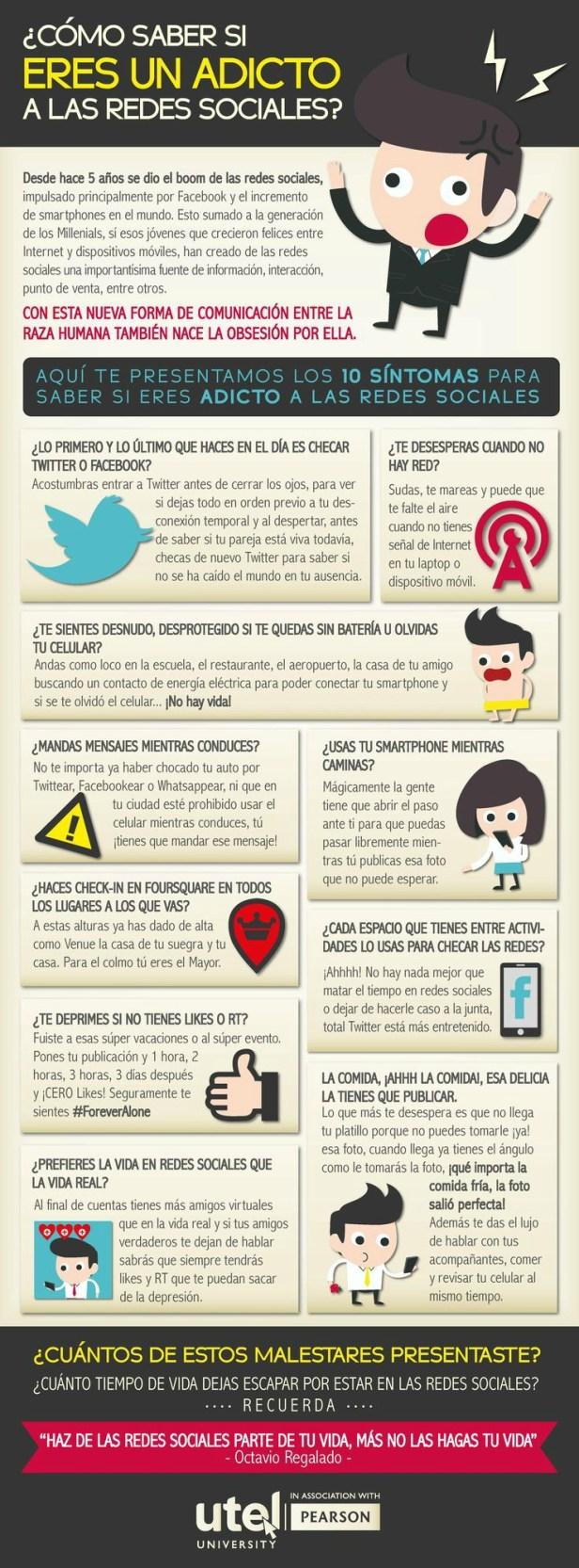 sintomas de addicion a las redes sociales