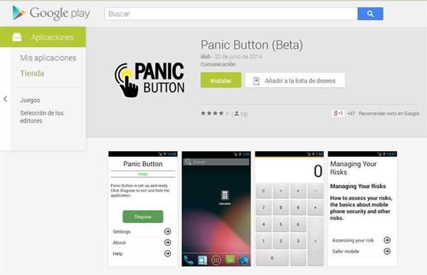 Panic Button para Android