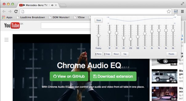 Chrome Audio EQ