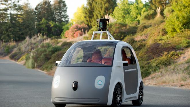 coche no tripulado de google