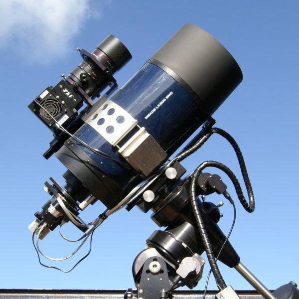 La red mundial de telescopios que se controla desde internet